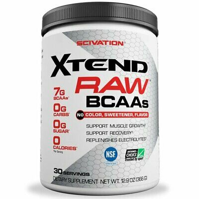 AU24.95 • Buy Scivation Xtend Raw Bcaa 30 Serves - Muscle Recovery Dated Exp 07/20