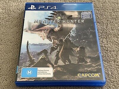 AU22.99 • Buy Monster Hunter World - PS4 PlayStation 4 Game - Free Postage