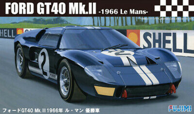 1:24 Scale Ford GT40 MK2 1966 LeMans Black Model Kit # • 45.99£