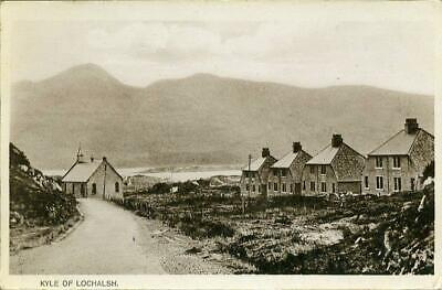 Real Photographic Postcard Of Kyle Of Lochalsh Church, Ross-shire, Scotland • 8£