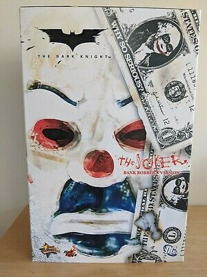 $300 • Buy Hot Toys The Joker Bank Robber Version MMS79 MMS079 1/6 Complete