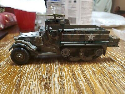 $45 • Buy M3A2 Half Track Model U.S. Armored Personnel Carrier