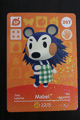 AU5 • Buy Official Animal Crossing Amiibo Cards - Mabel #207