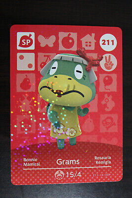 AU4 • Buy Official Animal Crossing Amiibo Cards - Grams #211