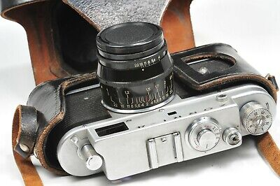 ZORKI 4 Rangefinder Camera Jupiter 8, Based On Leica, After CLA , From 1969 • 52.90£