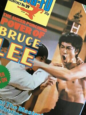 £11.99 • Buy Bruce Lee Kung Fu Monthly Poster Magazine Number 39 In Mint Condition