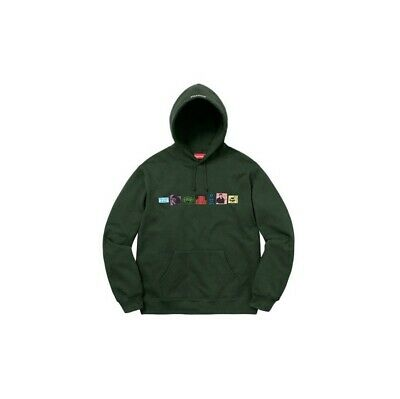 $ CDN265.98 • Buy NIB Supreme Blessed Hooded Sweatshirt Dark Green Hoodie Supreme Logo Size Small