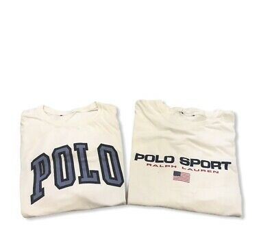 $ CDN21.04 • Buy Vintage Ralph Lauren Polo Sport T-Shirt Men's SZ XL Lot Bundle