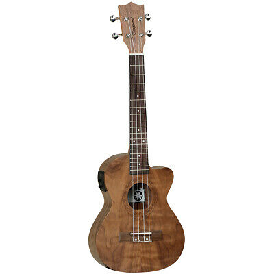 AU195 • Buy Tanglewood TWT15E Tiare Tenor Ukulele W/ Pickup Pacific Walnut