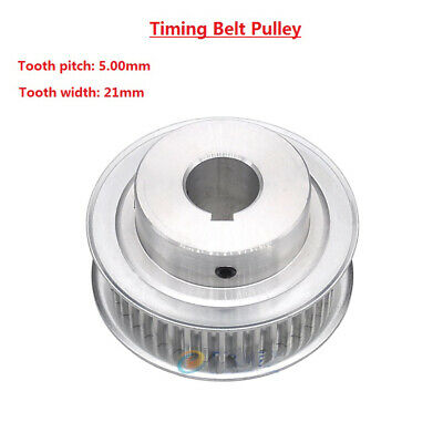 AU15.70 • Buy 5M 15T-80T Timing Belt Pulley With Step/Keyway, Bore 8-25mm,For 20mm Width Belt