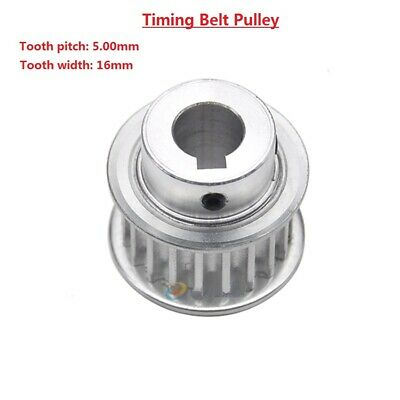 AU15.70 • Buy 5M 15T-80T Timing Belt Pulley With Step/Keyway, Bore 8-25mm,For 15mm Width Belt
