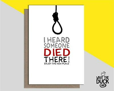 Funny & Cheeky New Home Greetings Card For Friends House Warming Moving In Gift  • 3.99£