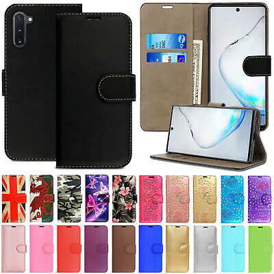 Case For Samsung Galaxy Note 10 Plus 5G Lite 9 8 Leather Flip Wallet Phone Cover • 1.99£