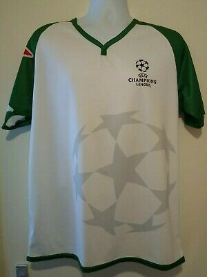 EUFA Champions League Heineken Worker Advertising T Shirt...size Medium/Large • 19.99£