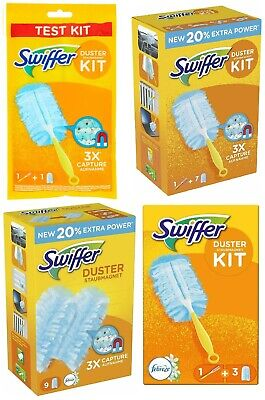 Swiffer Fluffy Dusters Febreze 18 Or Kit Dust Magnet Refills - Pledge Compatible • 9.99£