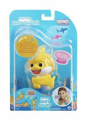 $7.85 • Buy *BABY SHARK* Fingerling Light Up Mood Fin Sings Pinkfong Song Authentic WowWee