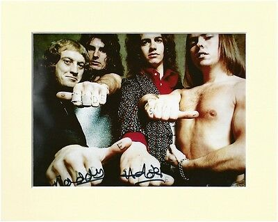 Noddy Holder Slade Pp Mounted 8x10 Signed Autograph Photo Merry Christmas • 4.99£