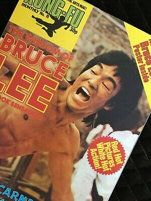 £11.99 • Buy Bruce Lee Kung Fu Monthly Poster Magazine Number 19 In Mint Condition