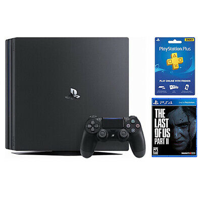 View Details PlayStation 4 Pro 1TB Console Black + The Last Of Us Part II Standard Edition + • 439.99$