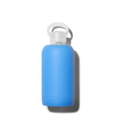 Bkr Glass Water Bottle BPA Free Silicone Sleeve Little ROMEO 500ml 16 Oz New  • 29.92£