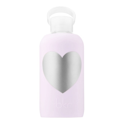 Bkr Glass Water Bottle W Silicone Sleeve Little LALA W/ HEART 500mL /16 Oz RARE • 32.53£