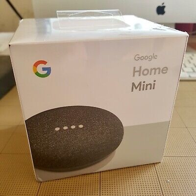 AU29 • Buy Google Home Mini Smart Speaker - Charcoal. Brand New - Sealed - Never Opened