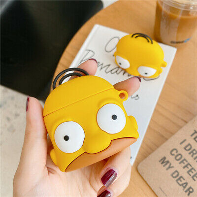 $ CDN6.05 • Buy 3D Simpson Airpod Pro Headset Earphone Charging Case Cover For AirPods 1 2 3