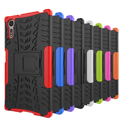 AU8.84 • Buy Heavy Duty Shock Proof Armour Hybride Case Cover For Various Sony Xperia Phone