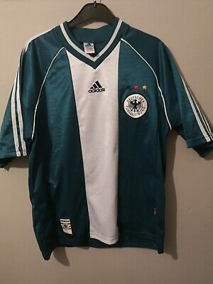 Rare Adidas Germany 1998-2000 Away Football Shirt • 32.99£