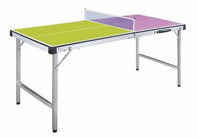 ND Folding Mini Table Tennis Portable Ping Pong Set Games Play Sport With Net • 55£