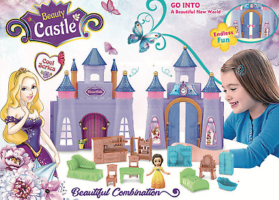 £9.99 • Buy Girls Fairytale Dreams Princess Castle Kids Toy Gift Playset With Accessories