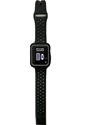 $ CDN80.28 • Buy Apple Watch Nike+ 42mm Aluminum Case Black/Gray Sport Band MNYY2LL/A Series 2