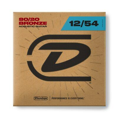 $ CDN7.29 • Buy Dunlop DAB1254 80/20 Bronze Acoustic Guitar Strings