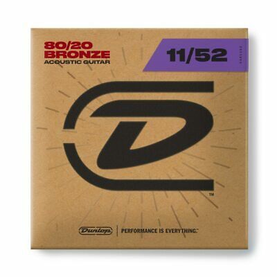 $ CDN7.29 • Buy Dunlop DAB1152 80/20 Bronze Acoustic Guitar Strings