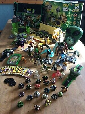 Ben 10 Toys With Rv Playset And Multiple Action Figures • 70£