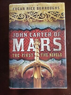 $15 • Buy John Carter Of Mars: The First Five Novels Edgar Rice Burroughs HB W/ DJ