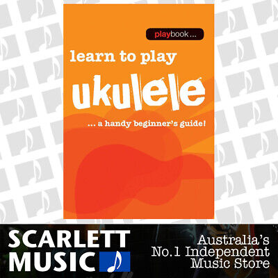 AU14.08 • Buy Playbook Learn To Play Ukulele (Softcover Book)