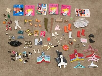$ CDN61.23 • Buy Vintage Barbie Doll Mixed Accessories Lot