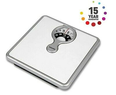 Magnified Tradicional Display Mechanical Bathroom Weighing Scales Measure New UK • 23.80£