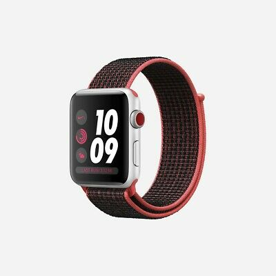 $ CDN447.69 • Buy Apple Watch Nike+ Series 3 (GPS + Cellular) 42mm.  Bright Crimson. **Brand New**