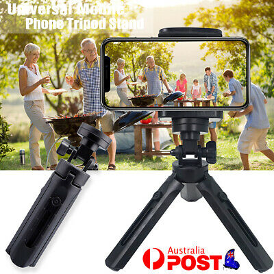 AU10.99 • Buy Universal For Mobile Phone Tripod Stand Mount Holder Video Live Self-Timer