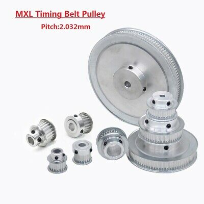 AU4.55 • Buy MXL14T-40T Timing Belt Pulley With Step, Bore 3mm-20mm For 6/10mm Width Belt
