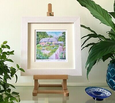 Gold Hill Shaftesbury Dorset FRAMED Giclee Print Signed High Quality Paper • 26£