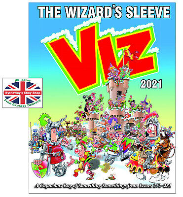 VIZ ANNUAL 2021 The Wizard's Sleeve HARDCOVER *BRAND NEW* • 11.25£