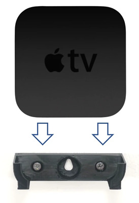 AU4.82 • Buy Apple Tv 2Nd / 3Rd Gen (Wall / Tv) Bracket Mount