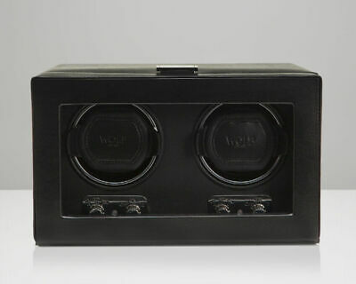 $ CDN727.52 • Buy WOLF 270102 Heritage Double 2.1 Watch Winder Black Glass Cover NEW