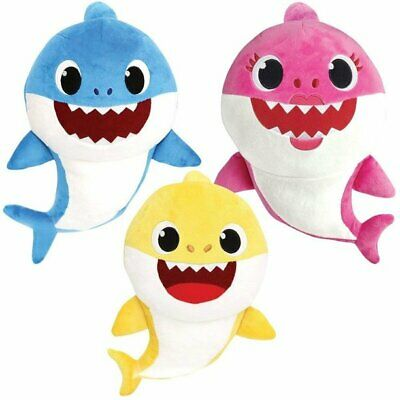 $10.95 • Buy Baby Shark Plush Singing Official Music Song Pinkfong Toys WowWee Plush Toy