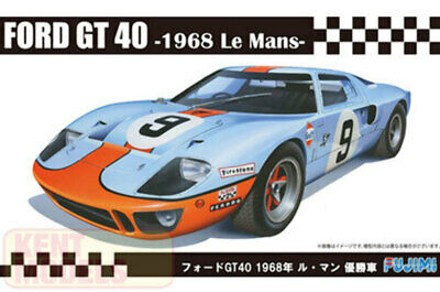 1:24 Scale Ford GT40 1968 LeMans Model Kit #859 • 36.79£