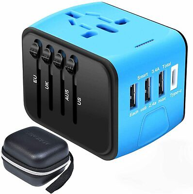 AU48.95 • Buy SZROBOY Travel Adapter,Universal Travel Adapter,All-in-one International USB Tra