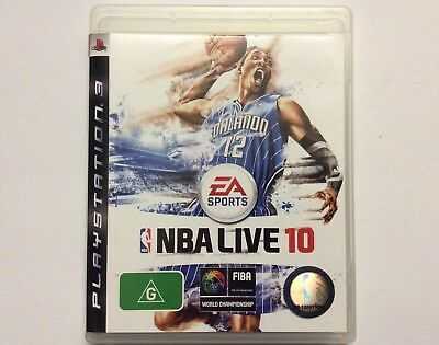 AU7 • Buy EA SPORTS NBA LIVE 10 - PLAYSTATION 3 - Electronic Arts - LIKE NEW CONDITION!!